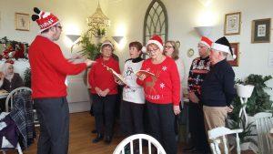 Choir at Cafe Britannia